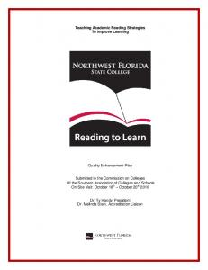 Teaching Academic Reading Strategies To Improve Learning