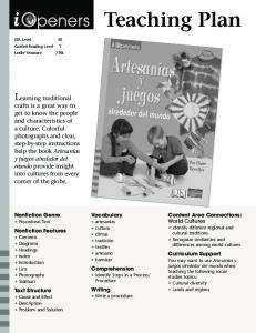 Teaching Plan. Learning traditional
