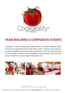 TEAM BUILDING & CORPORATE EVENTS