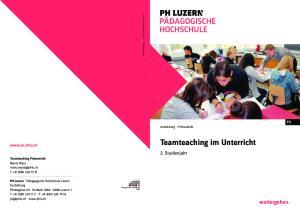 Teamteaching im Unterricht