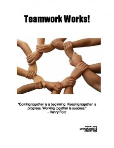 Teamwork Works!