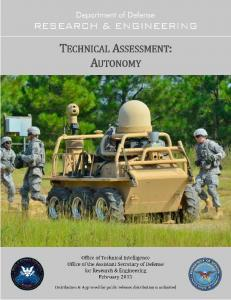 TECHNICAL AsSESSMENT: AUTONOMY