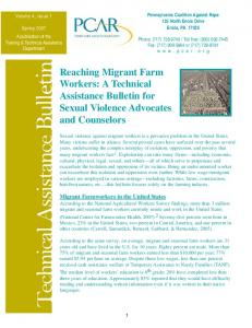 Technical Assistance Bulletin