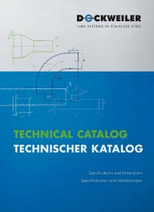 Technical Catalog Technischer Katalog
