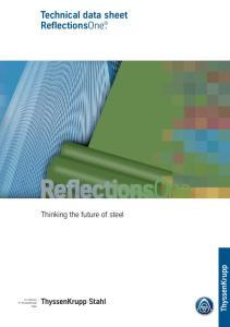 Technical data sheet ReflectionsOne