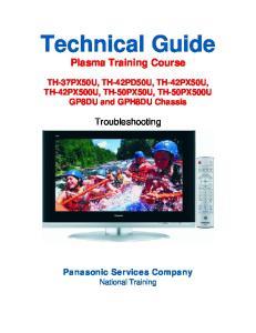 Technical Guide Plasma Training Course