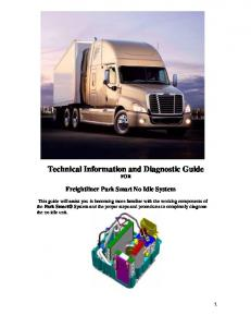 Technical Information and Diagnostic Guide FOR
