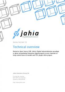 Technical overview DIGITAL FACTORY 7.0