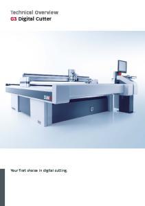 Technical Overview G3 Digital Cutter