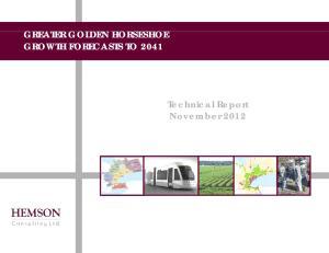 Technical Report November 2012