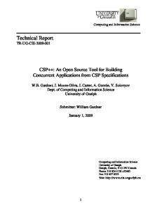 Technical Report TR-UG-CIS