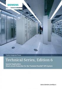 Technical Series, Edition 6