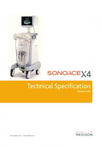 Technical Specification Version 2.00