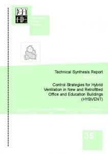 Technical Synthesis Report Annex 35