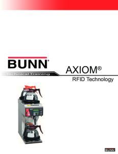 Technical Training AXIOM. RFID Technology
