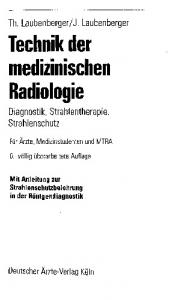 Technik der medizinischen Radiologie