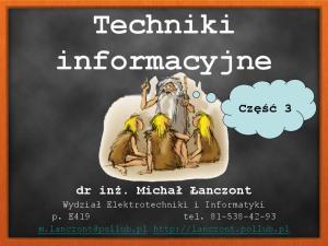 Techniki informacyjne