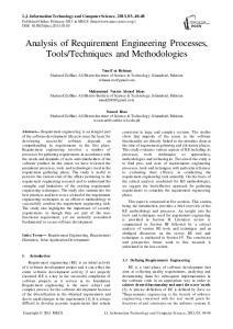 Techniques and Methodologies