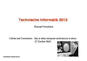 Technische Informatik 2012