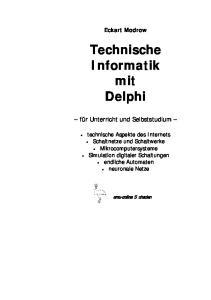 Technische Informatik mit Delphi
