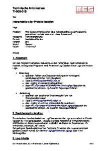 Technische Information TI