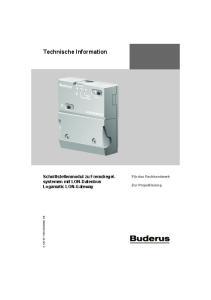 Technische Information
