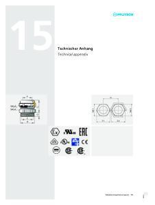 Technischer Anhang Technical appendix