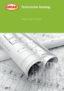 Technischer Katalog. Abwassertechnik TG33-K