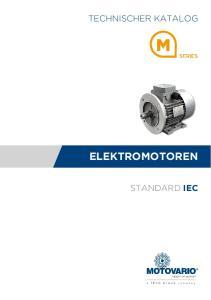TECHNISCHER KATALOG STANDARD IEC