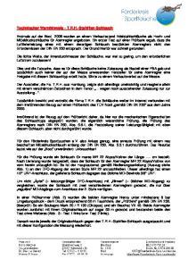 Technischer Warnhinweis - T.R.H.-Stahlflex-Schlauch