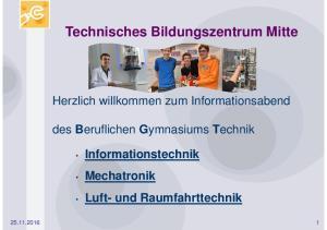 Technisches Bildungszentrum Mitte