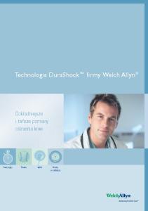 Technologia DuraShock firmy Welch Allyn
