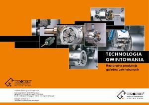 TECHNOLOGIA GWINTOWANIA