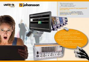 Technologia ProStreamer