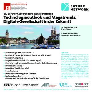 Technologieoutlook und Megatrends: Digitale Gesellschaft in der Zukunft