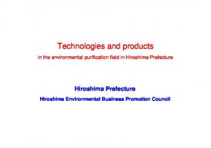 Technologies and products