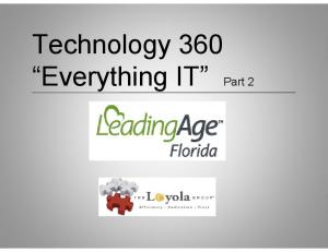Technology 360 Everything IT Part 2