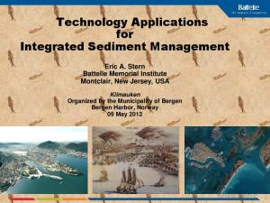 Technology Applications for Integrated Sediment Management