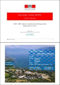 Technology EPFL