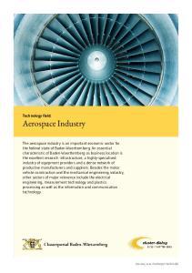 Technology field: Aerospace Industry