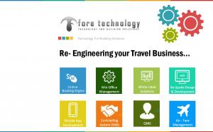 Technology For Building Solutions. Re- Engineering your Travel Business
