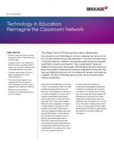 Technology in Education: Reimagine the Classroom Network
