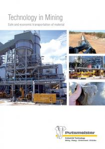 Technology in Mining. Safe and economic transportation of material. Industrial Technology. Mining Energy Environment Oil & Gas