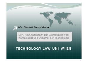 TECHNOLOGY LAW UNI WIEN