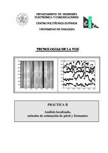 TECNOLOGIAS DE LA VOZ