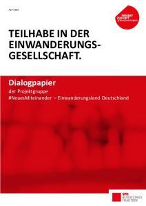 TEILHABE IN DER EINWANDERUNGS- GESELLSCHAFT
