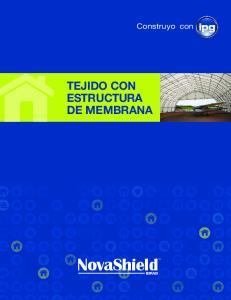 TEJIDO CON ESTRUCTURA DE MEMBRANA
