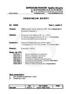 tel.: centr. (012) ; sekr. (012) ; fax: (012) NIP