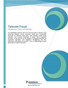 Telecom Fraud Introduction, Types, and Solutions