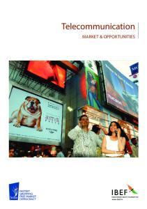 Telecommunication MARKET & OPPORTUNITIES
